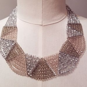Erica Lyons Beaded statement necklace